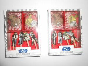 Williams-Sonoma STAR WARS Rebel Alliance Cupcake Decorating Kit ~ Lot of 2 sets