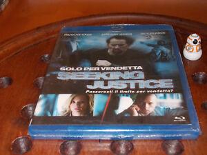 Solo Per Vendetta - Seeking Justice  Blu-Ray ..... Nuovo