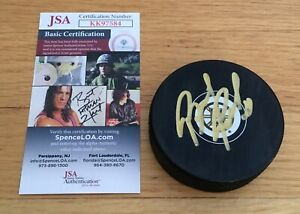 Brad Park Boston Bruins HOFer Autograph Signed Hockey Puck JSA COA
