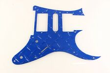 Blue Aluminum Diamond Plate fits Ibanez RG550 Jem RG Guitar Pickguard HSH