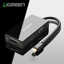 Ugreen Thunderbolt Mini DP to HDMI/VGA/DVI Adapter Converter Cable 4K 1080P HDTV