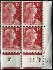 Timbres rouges figures historiques