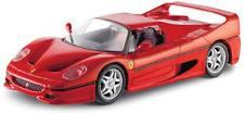 Maisto 1:24 Construye Tus Propios De Metal Ferrari F50 Kit