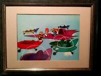 JETSONS PRODUCTION CELS,GEORGE,MR. COGSWELL ON HANNA-BARBARA BG OF ANOTHER SHORT