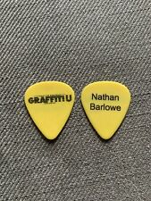 KEITH URBAN Nathan Barlowe 2018 Graffiti U World Tour Issue Guitar Pick Plectrum