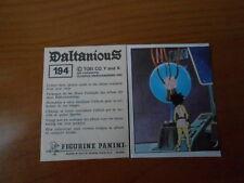 figurina DALTANIOUS n.194- ED. PANINI 1981 completa di velina