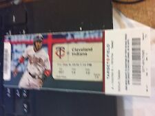 2016 MINNESOTA TWINS VS CLEVELAND INDIANS TICKET STUB 9/9 BYRON BUXTON HR #8