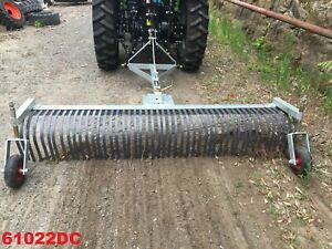 Daken Stick Rake - 2.4m with depth wheels