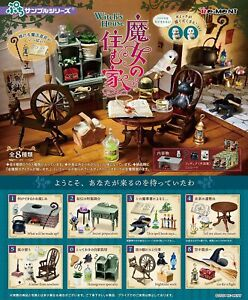 Re-Ment miniature  witch's house  Furniture  Japan  Full 8 Set dollhouse1:6