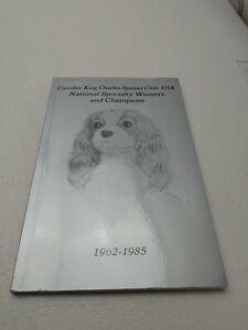 Cavalier King Charles Spaniel Club USA Books X 3.FREE UK DELIVERY 📮