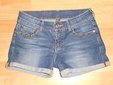 * ZARA * Short en jean taille ajustable - fille 9 / 10 ANS - comme NEUF