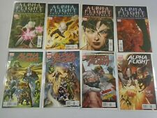 Alpha Flight set #1-8 8.0 VF (2011)