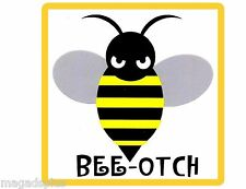 Bee - Otch  Funny Refrigerator & Tool Box Magnet Gift Card Insert
