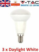 3 x 6W = 40W 400LM LED R50 / E14 / SES/ Reflector Light Bulb - Daylight White