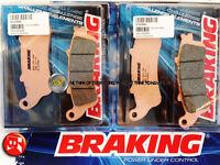 FOR HONDA CBR XX 1100 2002 02 FRONT SINTERED BRAKE PADS BRAKING