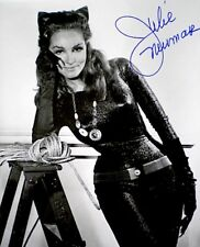 Julie Newmar Catwoman Hand Signed Autograph Photo Batman Original 8x10 B&W COA