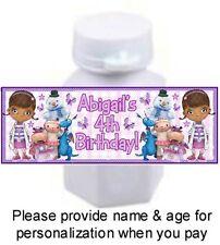 30 Doc McStuffins Birthday Party Or Baby Shower Mini Bubble Sticker Label Dottie