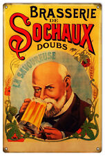 Reproduction Brasserie Sochaux Beer Sign