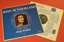 SXL 6192 Joan Sutherland Sutherland sings Bellini DECCA UK STEREO Royal Opera