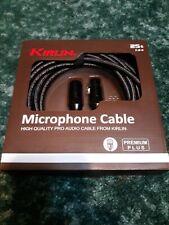 KIRLIN Premium Plus 25'(25 feet) XLR Microphone Cable