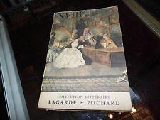 XVIIIe siècle, Les grands auteurs français, Lagarde et Michard