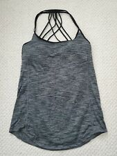 Lululemon Women's Tank Top Stretchy Casual Athletic Gym Yoga Black Size 4