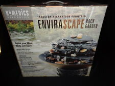 HOMEDICS ENVIRASCAPE ROCK GARDEN LARGE TABLETOP RELAXATION FOUNTAIN  NEW!