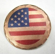 United Sates Flag American Forged Copper Golf Ball Marker by Sunfish
