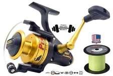 Penn Slammer 360 + 300m Berkley NANOFIL 0,25mm    Waller Heilbut Dorsch