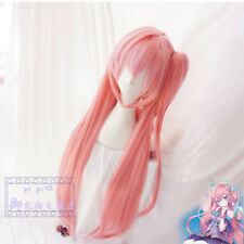Japan Anime VOCALOID Megurine Luka Cos Wig Lolita Pink Long Straight  Hair Wigs