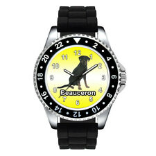 Beauceron Dog Breed Unisex Mens Ladies Jelly Silicone Band Wrist Watch Se718