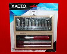 X-ACTO Basic Knife Set X5282 3 Knives 13 Blades Storage Box