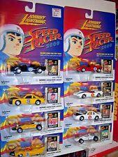 lot of 8 Speed Racer 2000 die cast cars (MOC) Johnny Lightning (2000) Mach V