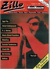 Zillo 7+ 8/1993 (Cult, Iggy Pop, Metallica, P.J. Harvey, Anthrax, suicidal T