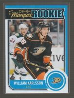 (71341) 2014-15 O-PEE-CHEE UPDATE MARQUEE ROOKIE WILLIAM KARLSSON #U26