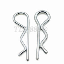 Bright Zinc Plated - Hairpin Cotter Pins R Shaft Retaining Clips Spring Pin