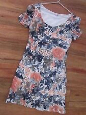 BEAUTIFUL  FLORAL DRESS, SIZE L[APPROX 10/12] BY TEMT