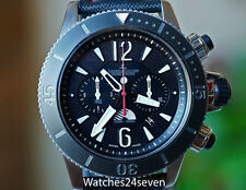 JLC Master Compressor Titanium Chronograph GMT Navy Seals Limited Edition 178T67