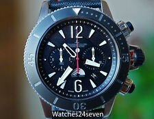 JLC Master Compressor Titanium Chronograph GMT Navy Seals Limited Ed. Ref 178T67