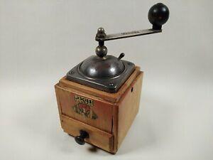 """Vintage """"Dienes"""" Wooden Coffee Grinder/Mill"""