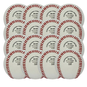 GTX BB-850 Major League 9 inch Baseball Ball - Dozen