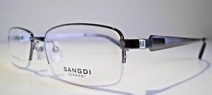 Semi Rimless Optical Eyeglasses Designer Spectacles Prescription Glasses Frames
