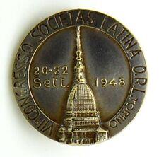 Distintivo VII° Congresso Societas Latina O.R.L. Torino Omaggio Laboratorio Lebe
