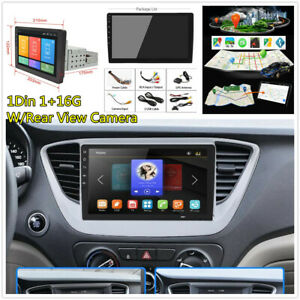 "8"" 1Din Car Stereo Radio Wifi Mirror Link Bluetooth GPS Navigation With Camera"