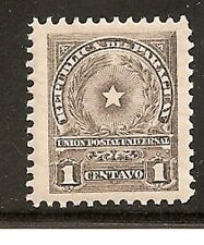 Paraguay Stamps Scott # 209/A40-1c-Mint/LH-1913