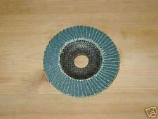 100mm Zirc. Flap Disc Coarse - 40 grit  pack of 10  for 100mm angle grinders