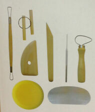 Clay Modelling Tools set  Pottery clay Tools  8pc Set,Air Drying clay Tool