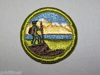 VINTAGE BSA BOY SCOUT PATCH 1960S HIKING MOUNTAIN