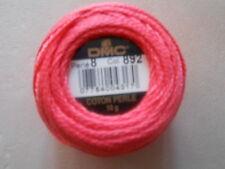 DMC Perle 8 Sfera di cotone colore scuro pesca numero 892