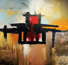 Original Abstract Painting By Escape606 Art Studio - Free Shipping